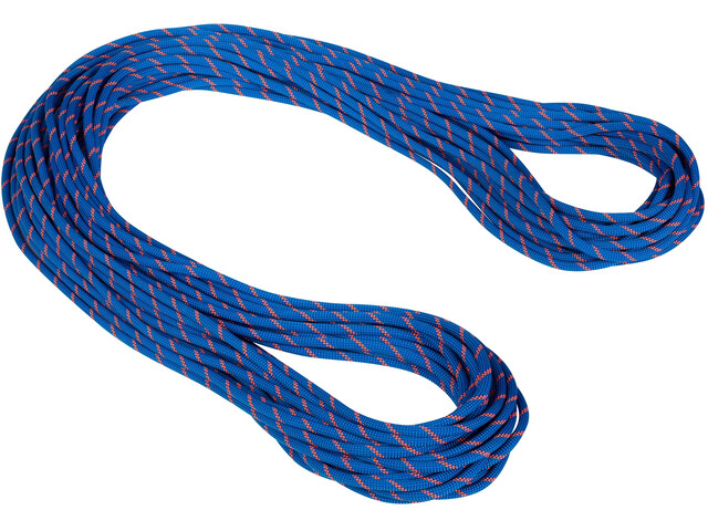 Mammut 7.5 Alpine Sender Dry Corda 60m, dry standard/blue/safety orange